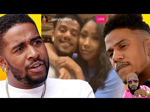 Drama ; Apryl Jones CONFIRMED Baby With Lil Fizz & Omarion PUT HANDS ON HIM!