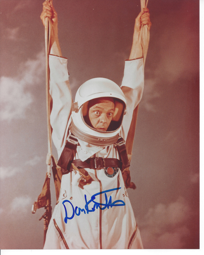 Don Knotts The Reluctant Astronaut 8x10 photo signed at the Hollywood Show on Oct. 6, 2001-my COA & lifetime guarantee-$65 +$4 S&H US. INTL at cost