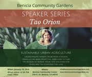 "Speaker Series: ""Sustainable Urban Agriculture"" with Tao Orion"