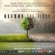 "Wine & Tapas Film Night & Fundraiser Featuring ""Before the Flood"""