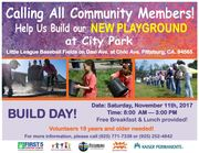 Build a Playground in Pittsburg