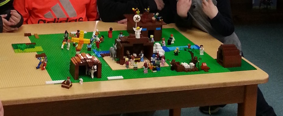 Nativity Lego Build