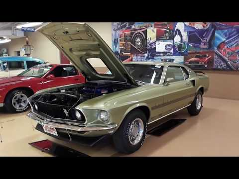 1969 Ford Mustang Mach 1 R Code At the 2019 Carlisle Summer Auction
