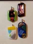 Fused Glass Pendants w/Lori