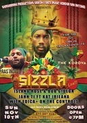 Ras Indio along side SIZZLA