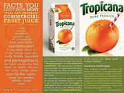 commerical fruit juices