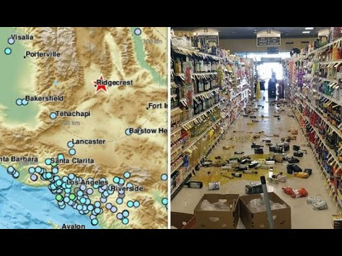 "Big Hit! California Earthquake 2019 ""More To Come"" Swarms Continue"