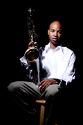 Saxophonist Cameron Ross