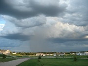 Storm coming in