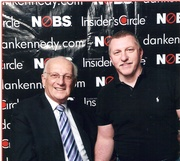 Mark Tewart with George Ross from the TV show Apprentice and Donald Trump's right hand man
