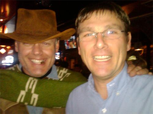 """Tim Jennings meets """"Clint Eastwood"""" at Digital Dealer 7 in Nashville!"""