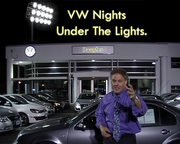 VW Nights under the lights at Douglas VW in Summit NJ