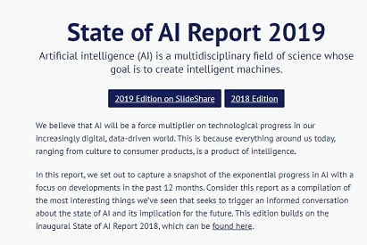 State of #AI 2019 Report - Data Science Central