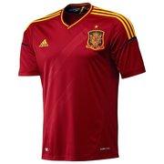 camiseta espania euro 2012