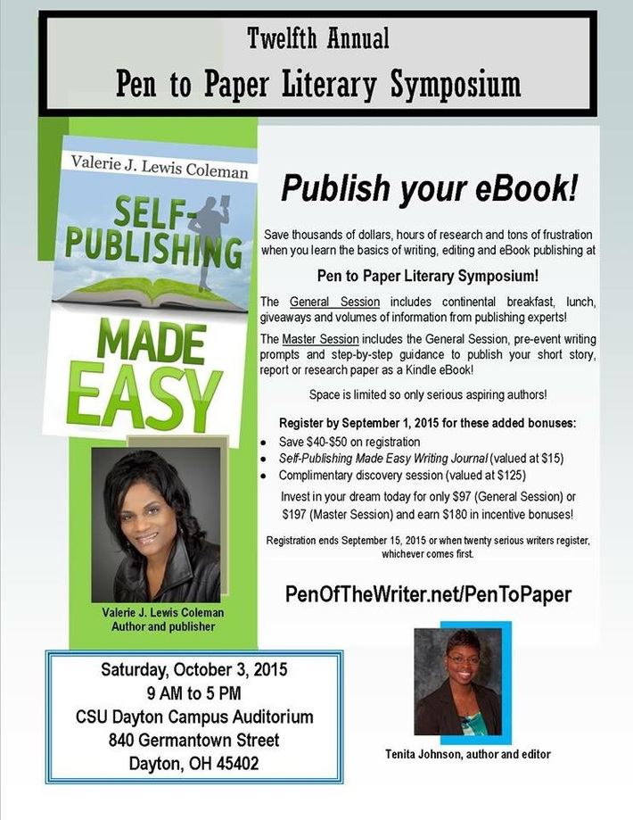Pen to Paper Literary Symposium