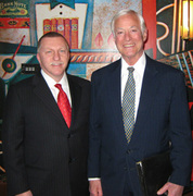 Mark Tewart with Brian Tracy