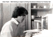 Vintage Brian Pasch -1983 Apple IIe