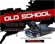 Old School Car Show.
