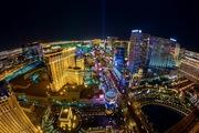 Las Vegas Paris to the Pyramid
