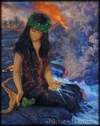 Богиня Пеле (гавайская богиня вулканов)