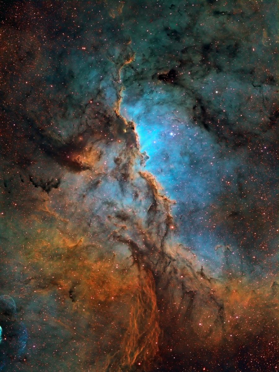 КОСМОС: Формирующаяся туманность NGC 6188