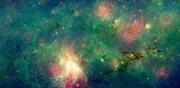 КОСМОС: Эволюция образования звезд вокруг M17 Туманность