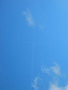 Крест в небе.