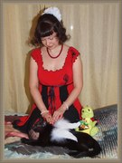 С ангельским котом
