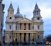 ЛОНДОН - собор святого Павла в Лондоне