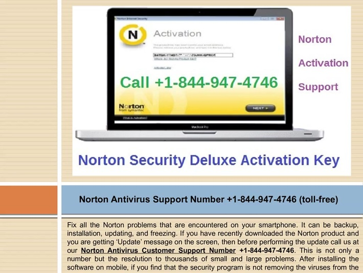 Acquire help related to Norton activation issue? Call +1-844-947-4746 Norton Support Number