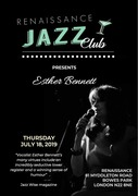 Renaissance Jazz club present- Esther Bennett-vocals with Tim Lampthorn-Piano