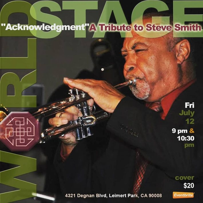 """The Band ACKNOWLEDGMENT Tribute To: STEVEN SMITH """"The Village LIVES!"""" - Eddie North-Hager, LeimertParkBeat.com"""