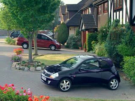 2008 Ford SportKA and stray cat TV Commercial from UK