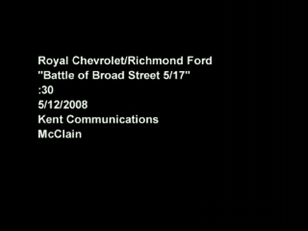 Richmond Ford and Royal Chevrolet Do Battle in Richmond, VA - TV and Web Video