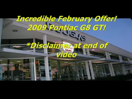 Ken Beam shows 2009 Pontiac G8 | Douglas GM | NJ GM Dealer |GM New/Used Car Sales & Service