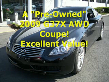 Ken Beam shows incredible `09 G37 AWD Coupe on 4/21/09 at Douglas Infiniti in Summit New Jersey!