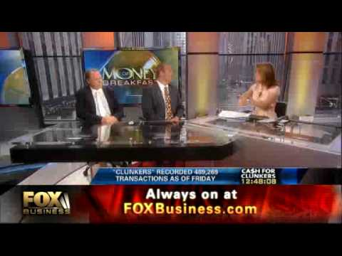 FOX Business Cash For Clunkers Ends 8-24-09