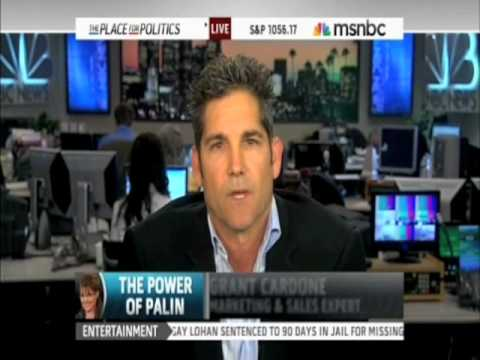 Grant Cardone Controlling the Interview at MSNBC