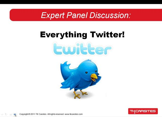 Expert Panel Discussion: Everything Twitter!