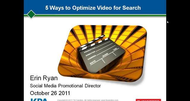 5 Ways to Optimize Video for Search