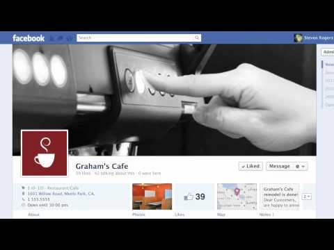 Facebook - Customizing How Your Page Looks 1