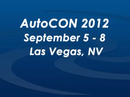 David Lewis Discusses His Role at AutoCon 2012