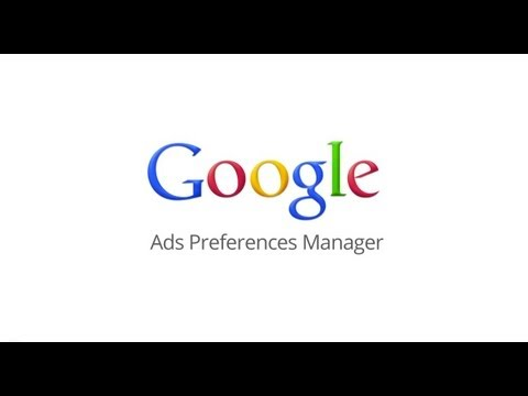 Google Ads Preferences Manager