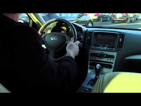Bridgewater NJ Infiniti G37X | Ken Beam shows G37X at Douglas Infiniti in Summit NJ | Bridgewater NJ
