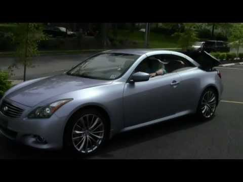 Infiniti G37 Convertible | Ken Beam shows 2011 G37 Convertible at Douglas Infiniti in Summit NJ | NJ