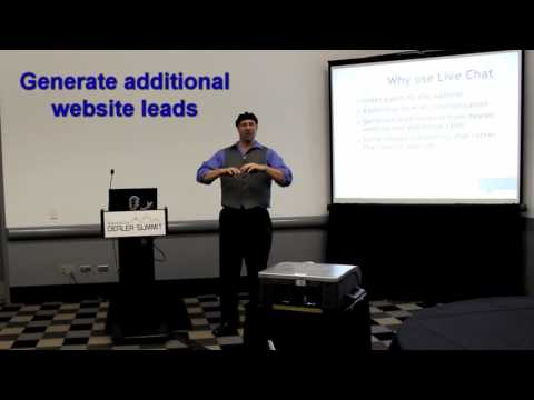 Why use live chat on dealer websites? - from IDS Denver 2015
