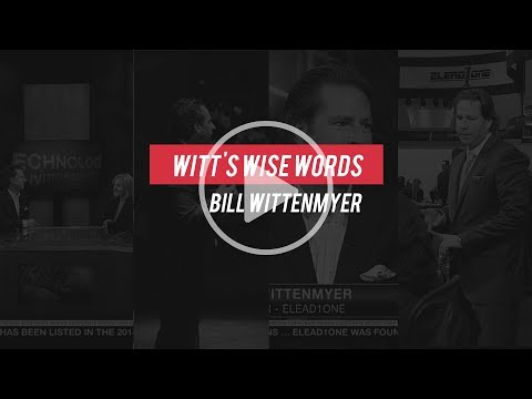 Witt's Wise Words - Dreaming Isn't Doing