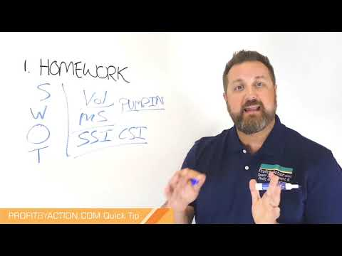 Profit By Action Quick Tip: Business Planning 2 - Preparation