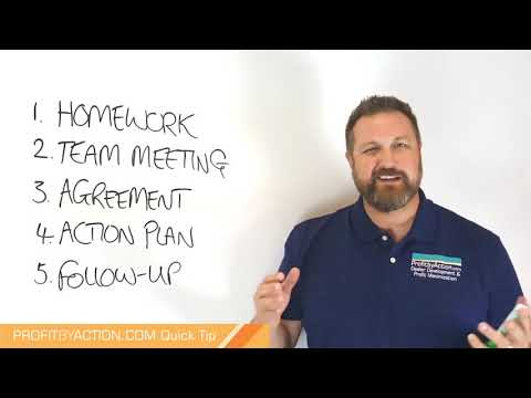 Profit By Action Quick Tip: Business Planning 1 - Process