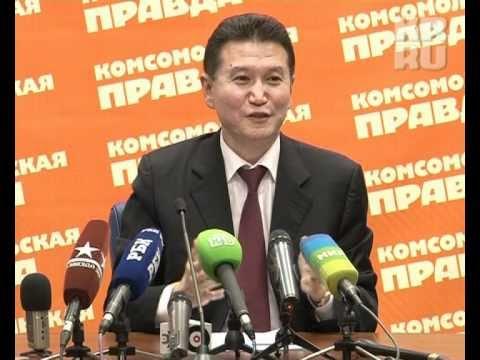 Кирсан Илюмжинов: Мы не одни во вселенной